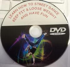 LEARN HOW TO STREET DANCE DVD STEP BY STEP BEGINNERS KEEP FIT CARDIO WORKOUT