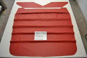1963 63 1964 64 FORD GALAXIE FASTBACK BRIGHT RED HEADLINER USA MADE TOP QUALITY