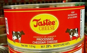 Tastees Cheddar Cheese 1 Kg / 2.2 Lbs