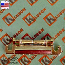 Kluson CORDIER BRONZE STOP TAILPIECE BELL BRASS US Style GIBSON KLP-1178G GOLD