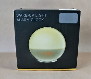 Wake Up / Alarm Clock LB01 Sunrise Simulation Light 7 Colored Night Light