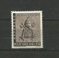 Vatican 1966 Works 150 Lira MNH Vaticano