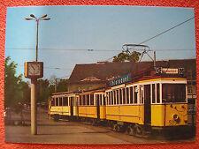 AK Ansichtskarte Postkarte Straßenbahn BVG Berlin Triebwagen 5256 - 1912/1978