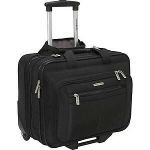 Samsonite Casual Wheeled Laptop Overnighter (Black) bag