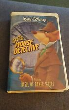 Disney's The Adventures of the Great Mouse Detective (VHS, 1999)
