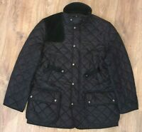Polo Ralph Lauren mens navy purple quilted jacket size L