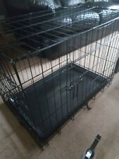 30 Inch Folding Puppy/Dog Crate, 2 Doors *Good Condition*