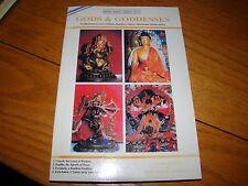 GODS GODDESS HINDU BUDDIST TANTRIC HYBRID TIBETAN DEITIES MAJUPURIA 2000 SIGNED