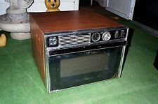 MICROWAVE OVEN VIntage 1970's SEARS Kenmore Rotary Knobs Antique Appliance