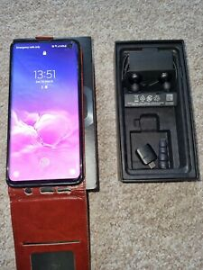 Samsung Galaxy S10 - Immaculate condition - Black (Unlocked)