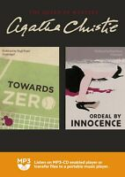 Towards Zero & Ordeal by Innocence: by Agatha Christie: - MP3CD Audiobook