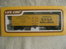 LIFE-LIKE HO SCALE ARMOUR HAM & BACON 37160 Wood Type REEFER NEW IN BOX
