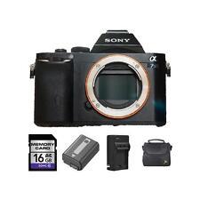 Sony Alpha a7S Mirrorless Digital Camera + 2 Batteries, 16GB & More