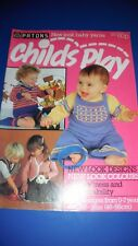Patons Child's Play 23 Designs Knitting Pattern Book 225