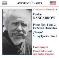 Nancarrow: Pieces Nos. 1 & 2; ¿Tango?; String Quartet No. 1, New Music