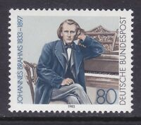 Germany 1394 MNH 1983 Johannes Brahms Composer Issue Very Fine