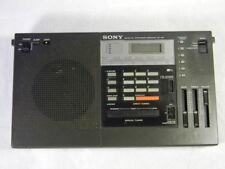 Vintage 1981 Sony ICF-2001 World Receiver Am FM SSB/CW Works Great