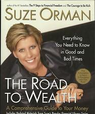 The Road To Wealth by Suze Orman; Signed 1st Ed. D/J