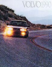 VOLVO 240,740,940  SALES BROCHURE 1990
