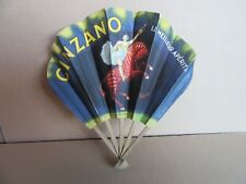 297I Vintage Fan Cinzano Cappiello Vercasson Paris Fanmaking
