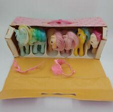 My Little Pony G1 Lot Vintage MLP-Lot Of 8 w/ CARRY CASE