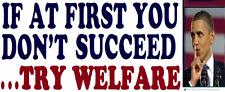Conservative GOP Anti Liberal Political Bumper Sticker Funny