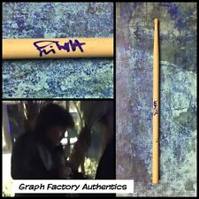 GFA AC/DC Drummer * SIMON WRIGHT * Signed Autograph Drumstick PROOF S2 COA