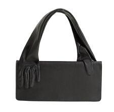 BNWT MAISON MARTIN MARGIELA For H&M Black Leather Handle Glove Clutch Purse Bag
