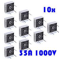 2pc 4 Pins 1000V 30A KBPC3510W Diode Bridge Rectifier Convert AC to DC