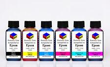 Refill Drucker Tinte Nachfülltinte für CISS Epson Photo T0791 - T0796 kein OEM
