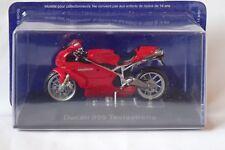 MOTO DUCATI 999 TESASTRETTA série les grandes motos à collectionner  ALTAYA/IXO