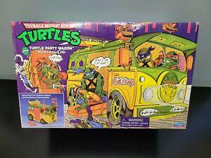 TMNT Teenage Mutant Ninja Turtles Party Wagon Mutant Attack Van 2021 Playmates