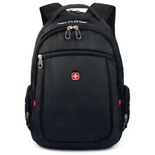 "Swiss Army Backpack For Mens or Womens Waterproof Fashion 15"" Laptop School Bags"