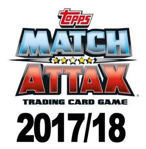 2017/18 TOPPS PREMIER LEAGUE MATCH ATTAX