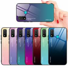 Per Huawei P Smart 2020 Honor 30 20 NUOVA pendenza in vetro temperato Telefono Case Cover