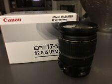 Canon EF-S 17-55mm f/2.8 AF IS USM Lens IMMACULATE