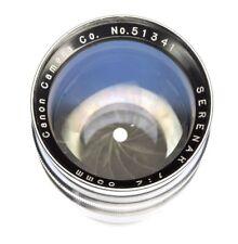 Canon RF 85mm f2 Serenar Leica SM  #51341
