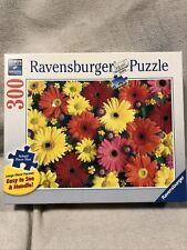Ravensburger Puzzle Delightful Daisies Large Format 300 Pieces Complete