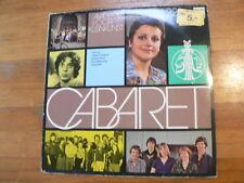 LP RECORD VINYL CABARET AKADEMIE VOOR KLEINKUNST VANGRAIL,BURG,WEISSMAN 1977