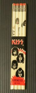 KISS WALLACE PENCIL SET OF 4 AUCOIN 1977 SEALED