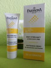 (16,58€/100ml) FARMONA Aufhellungscreme gegen Pigmentflecken/Sommersprossen 50ml