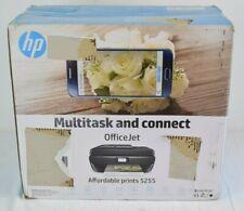 HP OfficeJet 5255 All-in-One Inkjet Wireless Printer Copy Scan Print Fax - New
