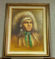 PERILLOFF? - Indian Chief Painting - Original