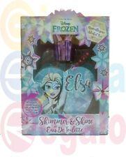 Frozen Elsa Disney Profumo edt Ml. 50 Eau de Toilette con Adesivi Idea Regalo