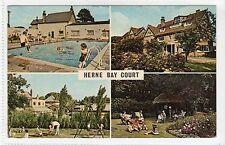 HERNE BAY COURT: Kent multiview postcard (C13669)