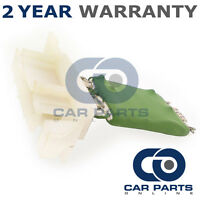 FOR VAUXHALL CORSA C 1.2 TWINPORT PETROL (2004-2007) HEATER BLOWER FAN RESISTOR