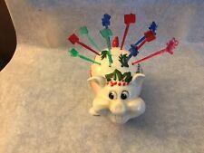 Kreiss Merry Christmas Pig Hor D'oeuvre Holder Cute