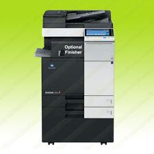 Konica Minolta Bizhub C224 Laser Color BW Printer Scanner Copier 22PPM A3 MFP