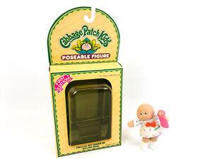 "VTG 1984 Cabbage Patch Kids Poseable Figure Ellyn Sue Original Packaging 3.5"""