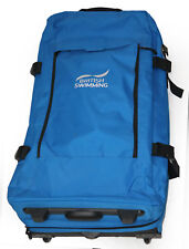 BagBase BRITISH SWIMMING Olympic Games Issue Dual-Layer Large Wheelie Suitcase